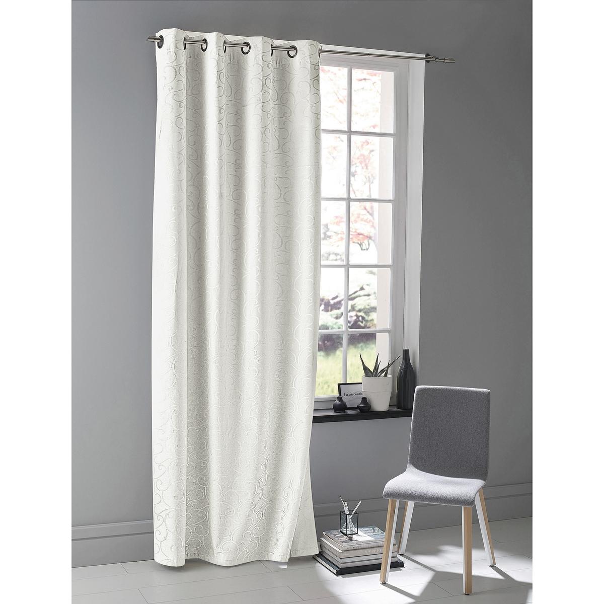Image of Beriza Blackout Eyelet Single Curtain