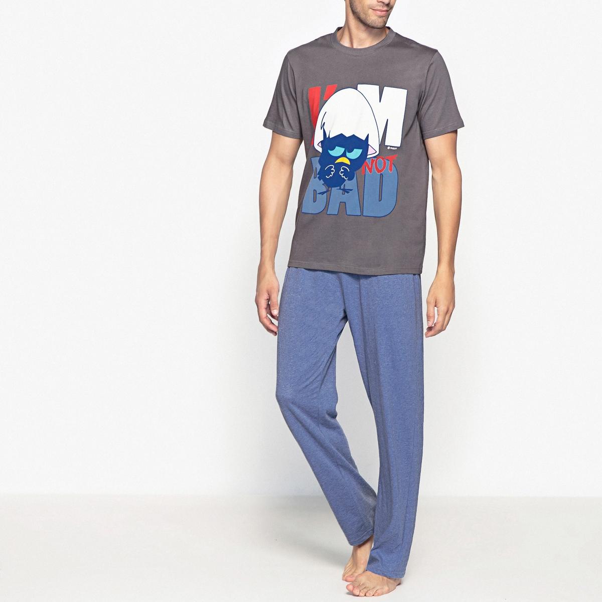 Пижама с короткими рукавами и рисунком CALIMERO пижама с шортами с рисунком