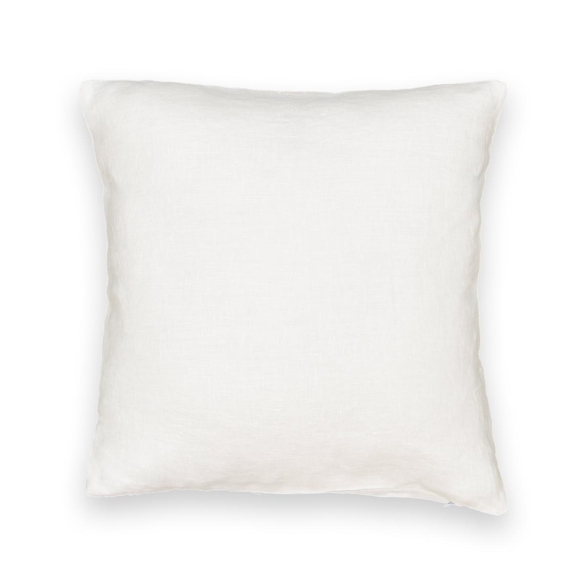 Чехол на подушку-валик из стираного льна, ONEGAХарактеристики чехла на подушку-валик из 100% льна Onega :Качество BEST, требование качества.100% лен.Застежка на молнию.Машинная стирка при 30 °СРазмеры чехла на подушку-валик из 100% льна Onega :40 x 40 см.Найдите подушку Terra на сайте laredoute .ruЗнак Oeko-Tex® гарантирует, что товары прошли проверку и были изготовлены без применения вредных для здоровья человека веществ.<br><br>Цвет: антрацит,белый,бледный сине-зеленый,зеленый,прусский синий,розовая пудра,серо-бежевый,терракота
