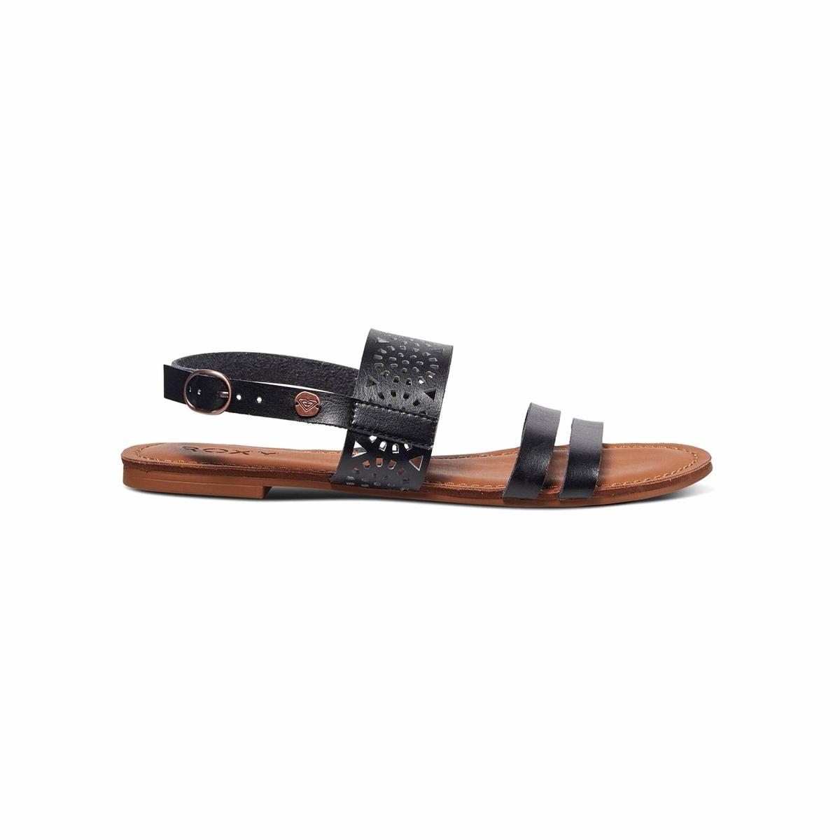 Сандалии FeliciaВерх : синтетика Подошва : каучук Форма каблука : плоский каблук Мысок : открытый мысок Застежка : ремешок/пряжка<br><br>Цвет: черный<br>Размер: 39