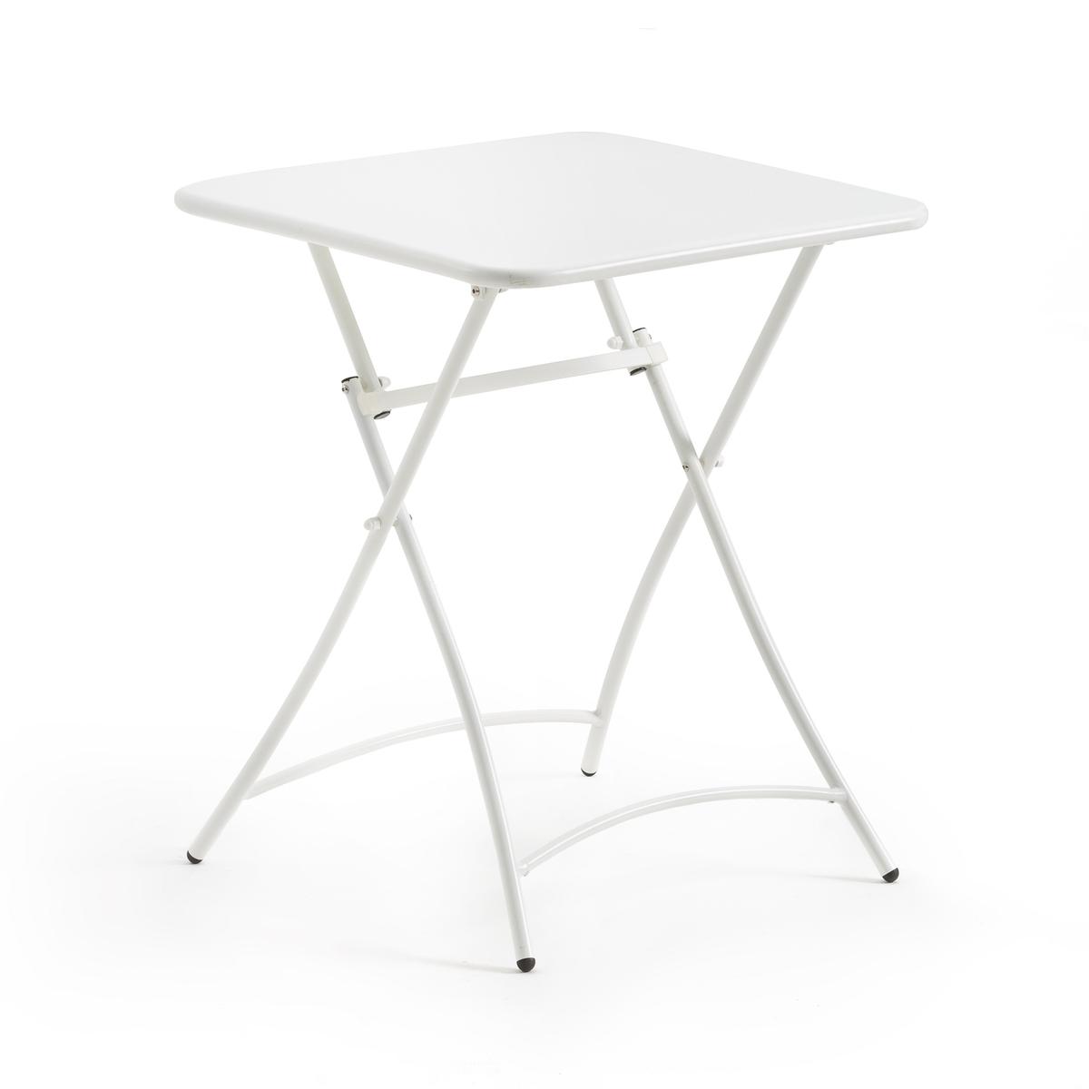 Столик складной металлический Malmo столик из металла и дерева h высота 60 см nottingham
