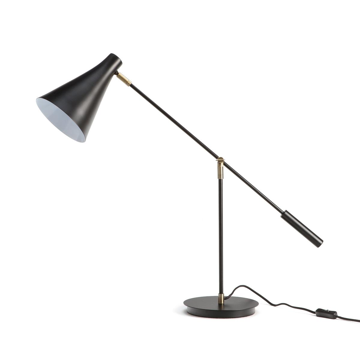 Лампа La Redoute Настольная с шарнирным бра Jameson единый размер черный