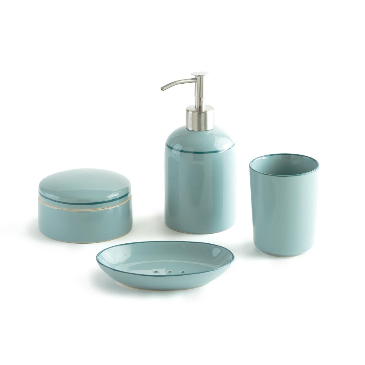 Набор LaRedoute Для ванной Enamel единый размер синий