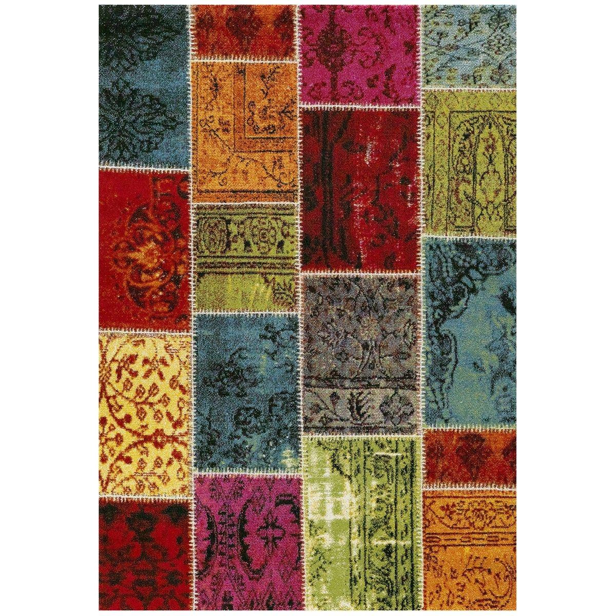 Tapis Ethno 819 110 Tapis Moderne Par Unamourdetapis Multicolore Un