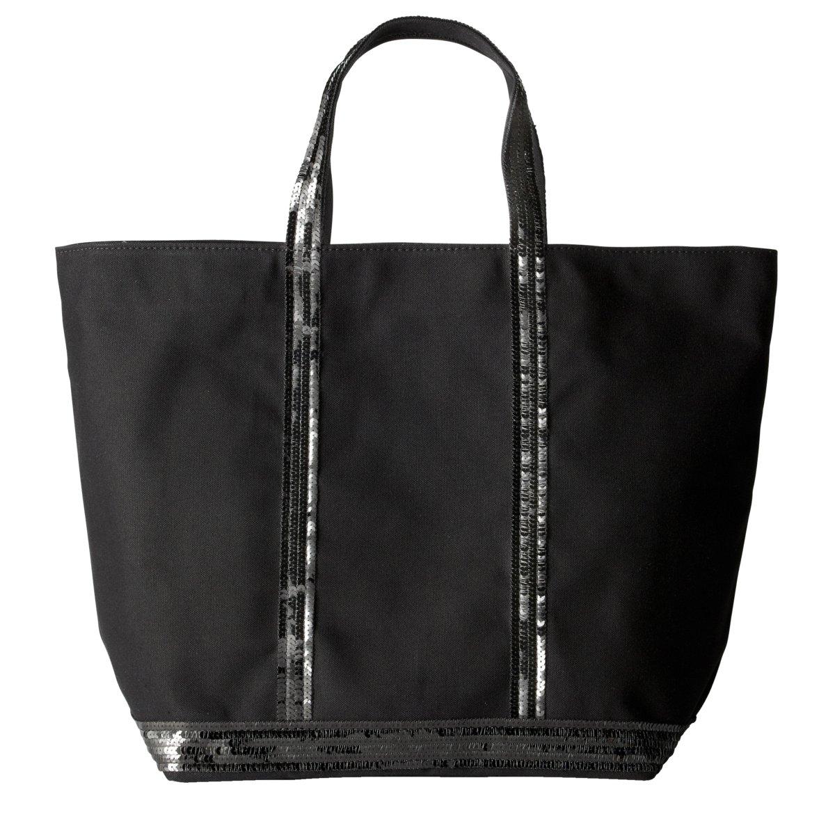 Фото - Сумка-шоппер La Redoute Средняя из парусины с блестками единый размер черный сумка шоппер средняя из парусины с блестками