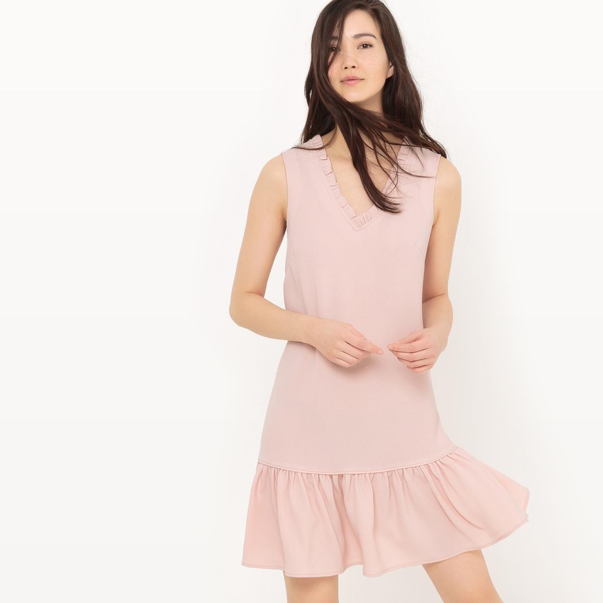 Платье с баской без рукавов meiller платье с баской
