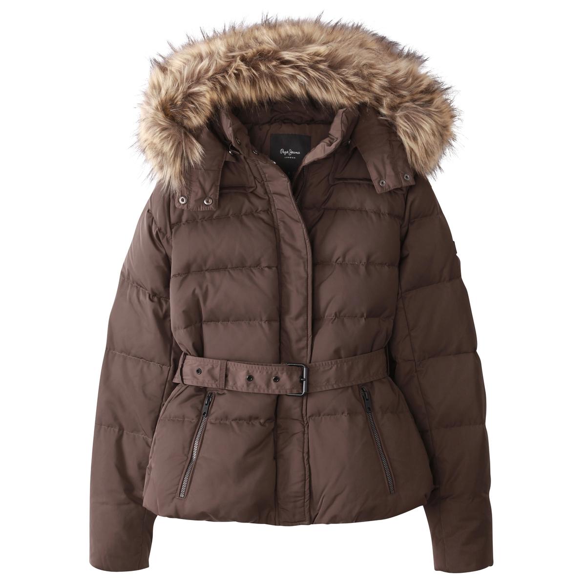 Куртка стеганаяДетали •  Длина  : удлиненная модель •  Капюшон  •  Застежка на молниюСостав и уход •  100% полиэстер •  Следуйте советам по уходу, указанным на этикетке<br><br>Цвет: хаки,черный,шоколадный