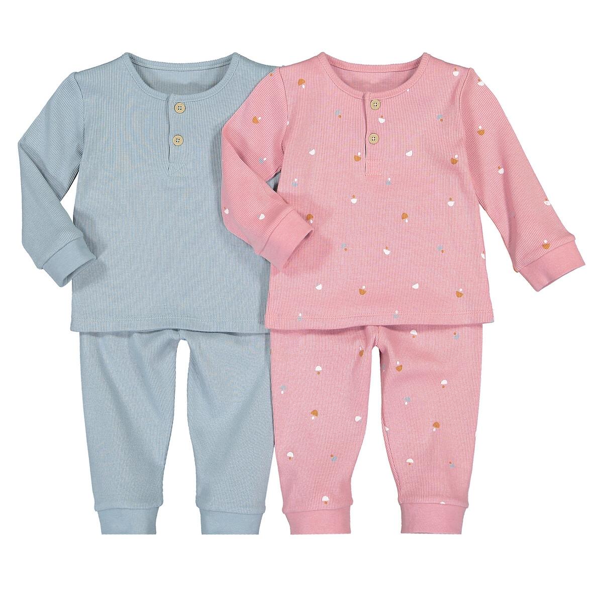 Комплект из 2 пижам раздельных LaRedoute