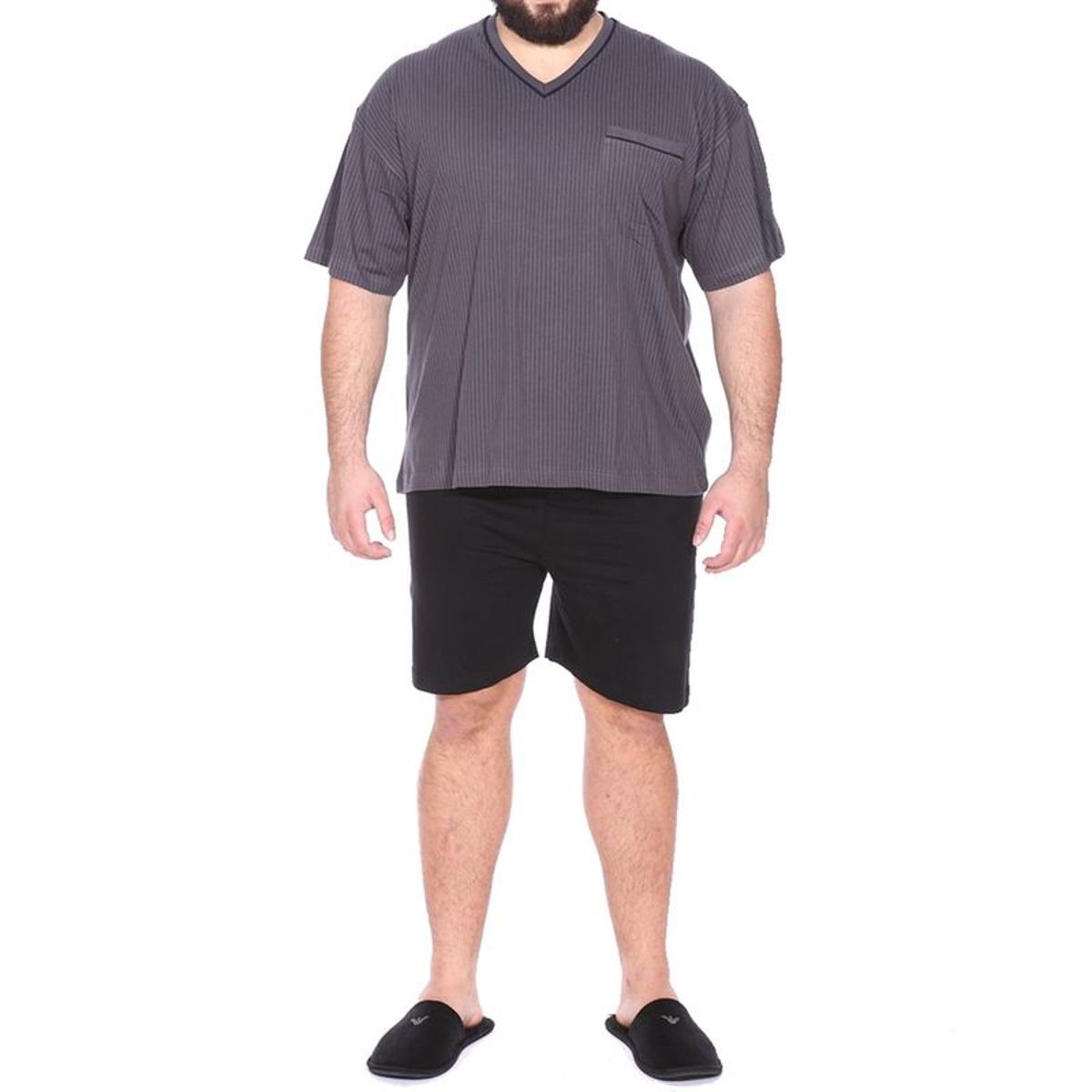 Pyjamas homme grande taille Coton