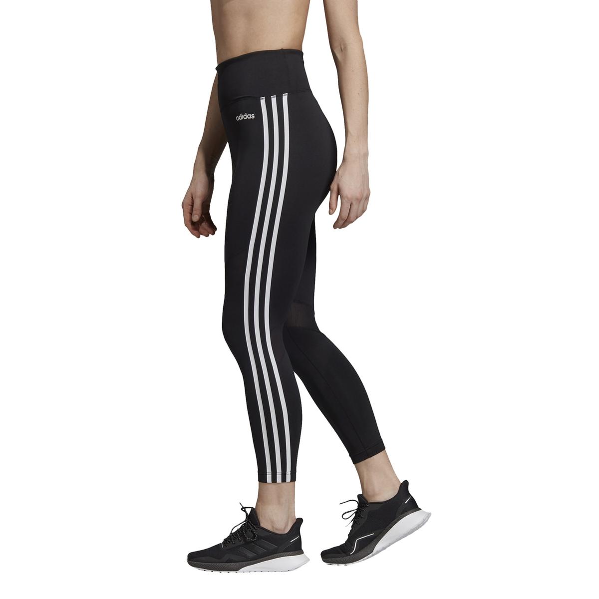 Leggings tobilleros D2M con talle alto y bolsillo interior