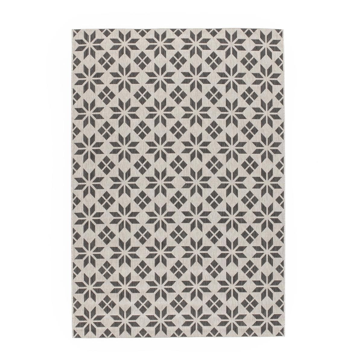 Ковер La Redoute Горизонтального плетения с рисунком цементная плитка Iswik 120 x 170 см бежевый ковер la redoute горизонтального плетения с рисунком цементная плитка iswik 120 x 170 см бежевый