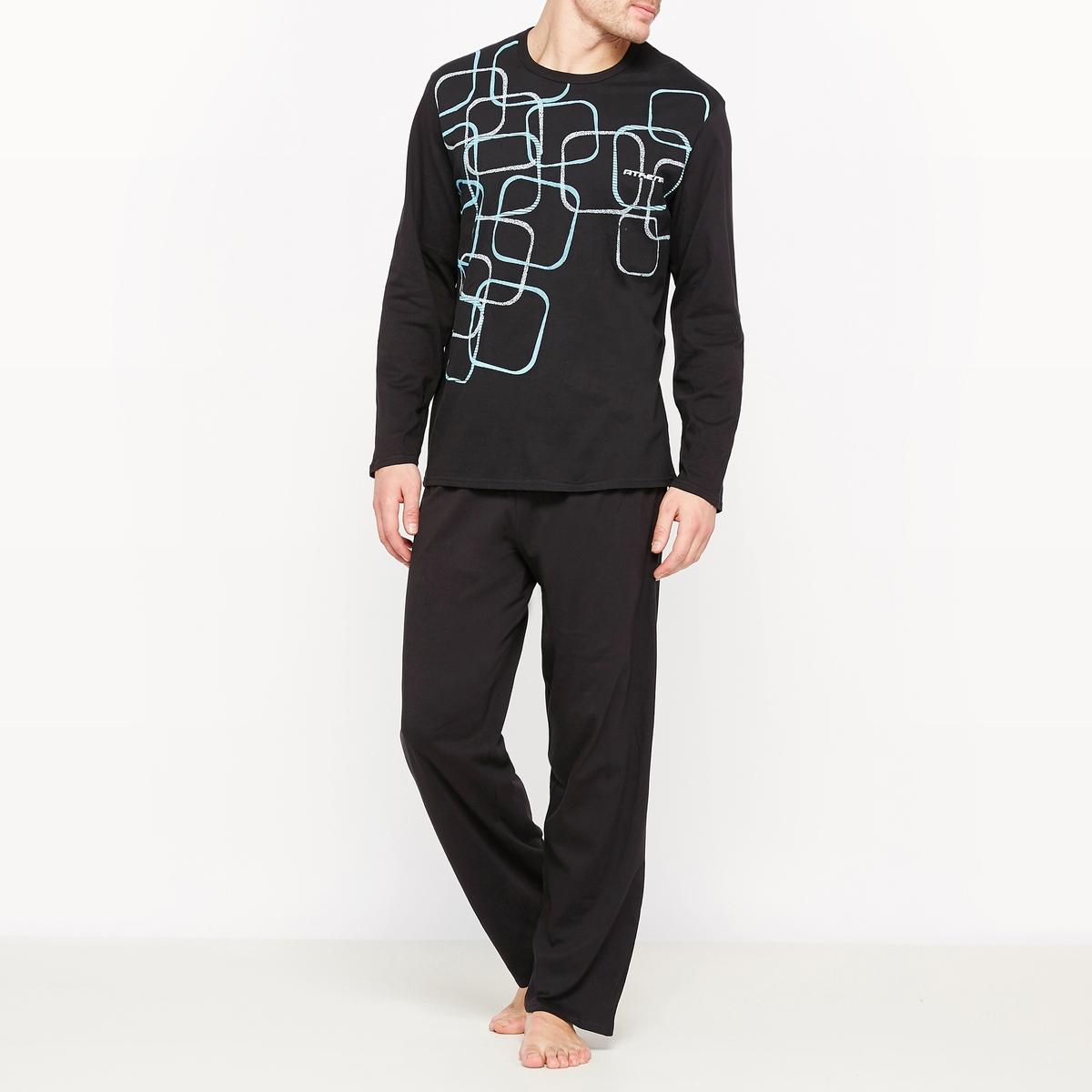 Пижама из джерси, 100% хлопок