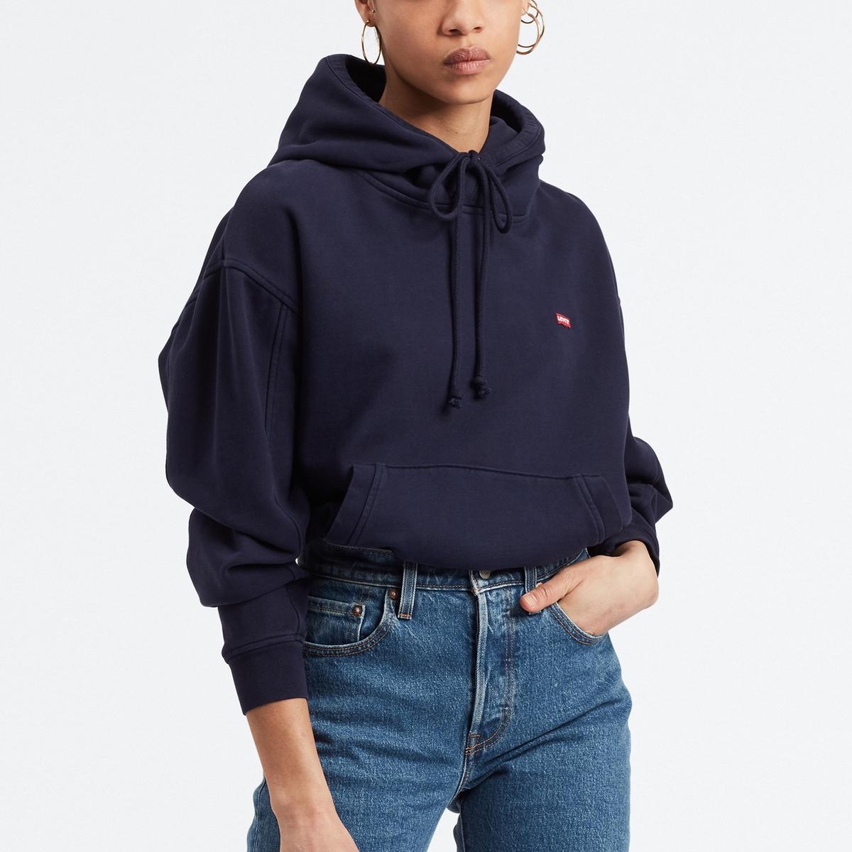 Sudadera con bolsillo y capucha