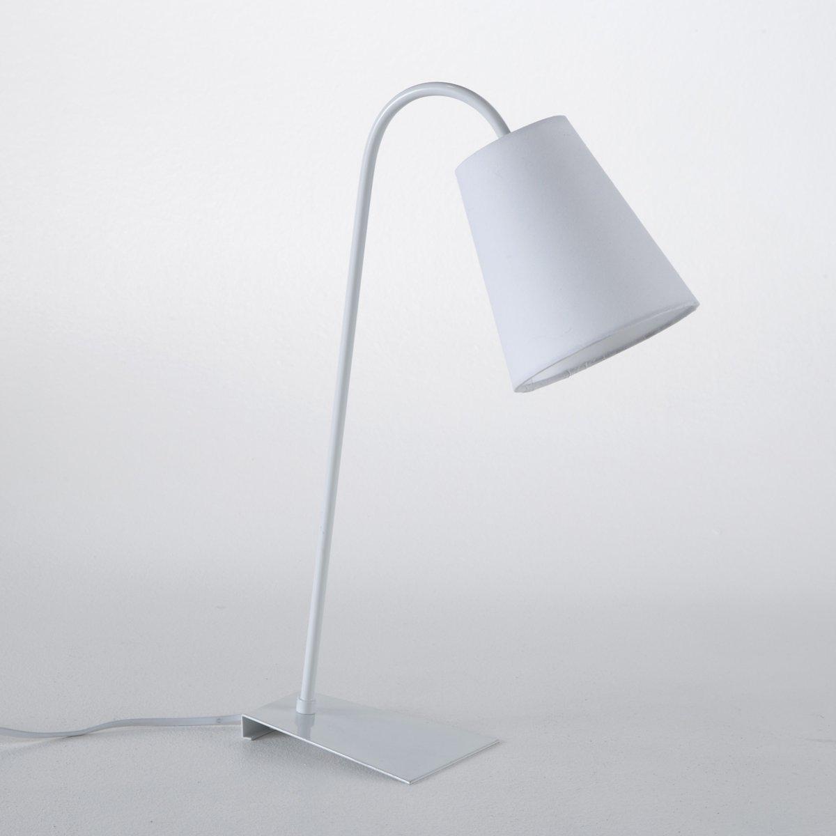 Лампа настольная из металла, PactusЛампа настольная из металла, Pactus . Современная настольная лампа с изысканным дизайном...Описание настольной лампы Pactus :Патрон E14 для флюокомпактной лампочки 8W (не входит в комплект)  .Этот светильник совместим с лампочками    энергетического класса   : A. Характеристики лампы Pactus :Ножки из алюминия с эпокидным покрытием Абажур из ткани  Найдите подходящий светильник для чтения высотой 138 см и всю коллекцию светильников на сайте laredoute.ru.Размеры лампы Pactus :Ширина :32 смВысота : 47 смГлубина : 13 см Размеры и вес коробки : 1 упаковка53 x 26 x 26 см .2,25 кг .<br><br>Цвет: белый,красный,сине-серый,черный