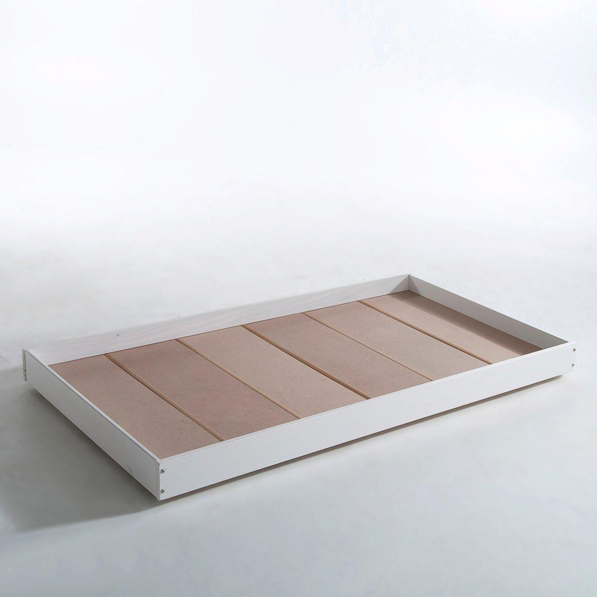 Ящик-кровать LaRedoute На колесиках Maysar единый размер белый