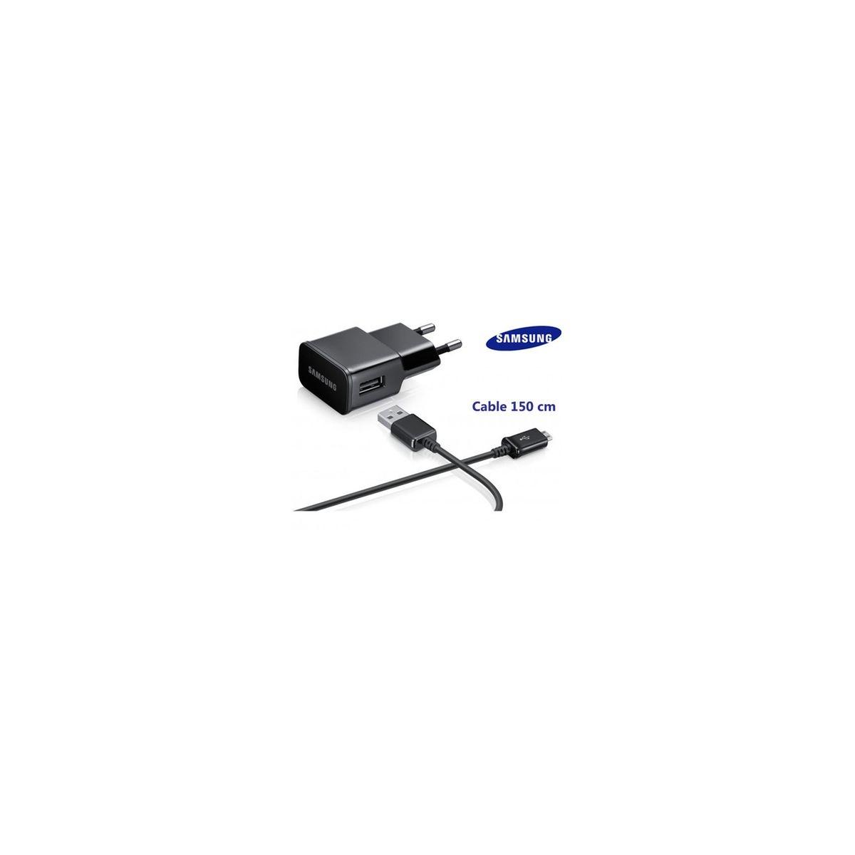 Galaxy A3 A300 Chargeur 2a Avec Cable 1,5m Origine Micro-usb