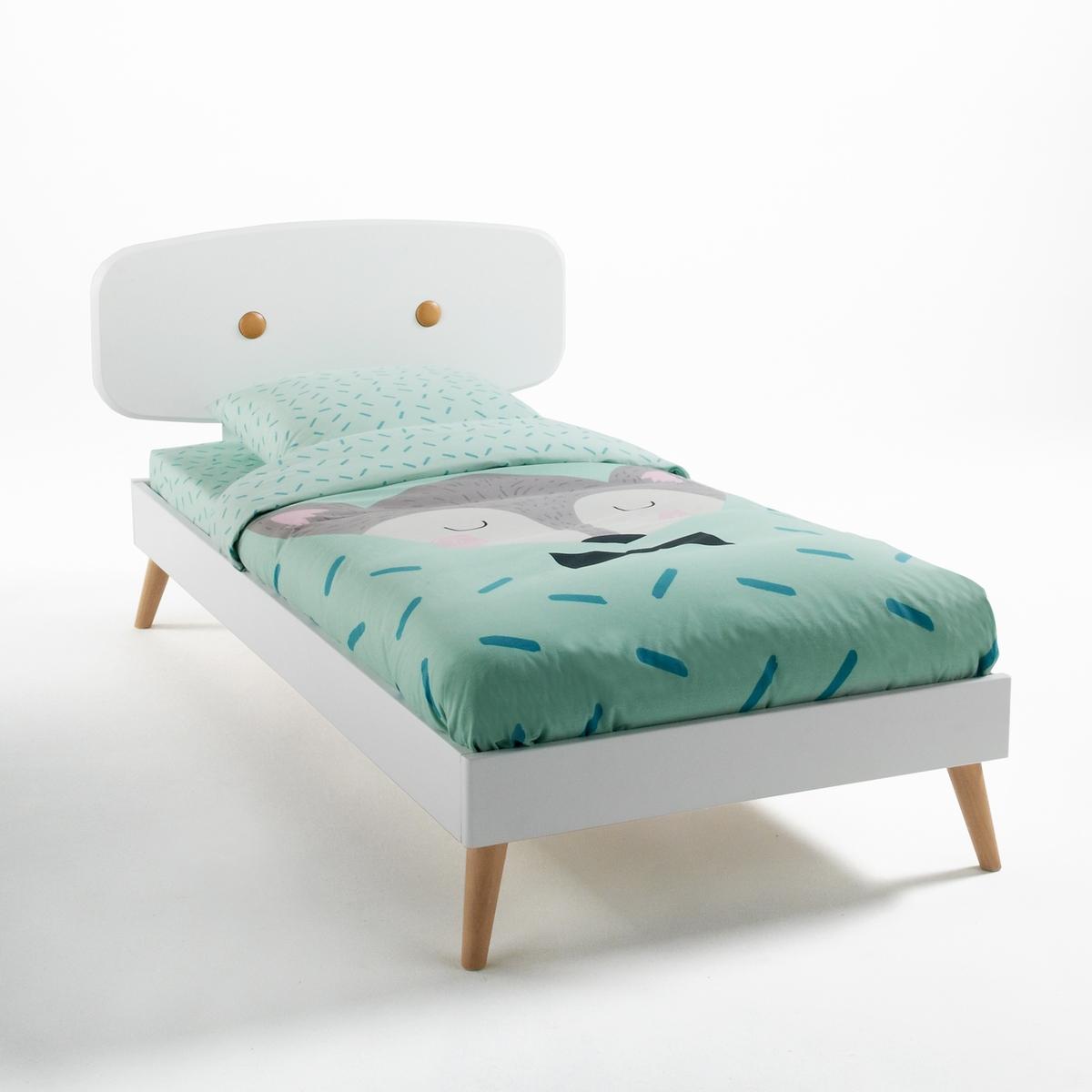 Детская LaRedoute Кровать с сеткой Anda 90 x 190 см белый