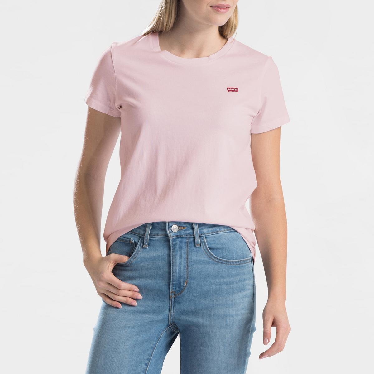 Camiseta con cuello redondo de manga corta