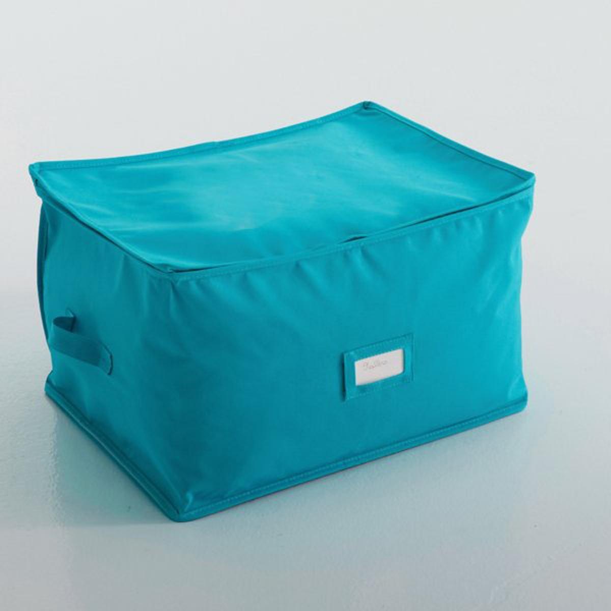 Чехол для хранения, Ш.47 x В.37 x Г.30 смЧехол для хранения. Идеален для хранения одеял, покрывал и подушек. Легко убирается под кровать или под шкаф. Характеристики чехла для хранения:полиэстер 290 г/м?.Ручки для переноски и место для бирки. Размеры чехла для хранения: Ш.47 x В.37 x Г.30 см.<br><br>Цвет: бирюзовый,розовый,серо-коричневый каштан,серый