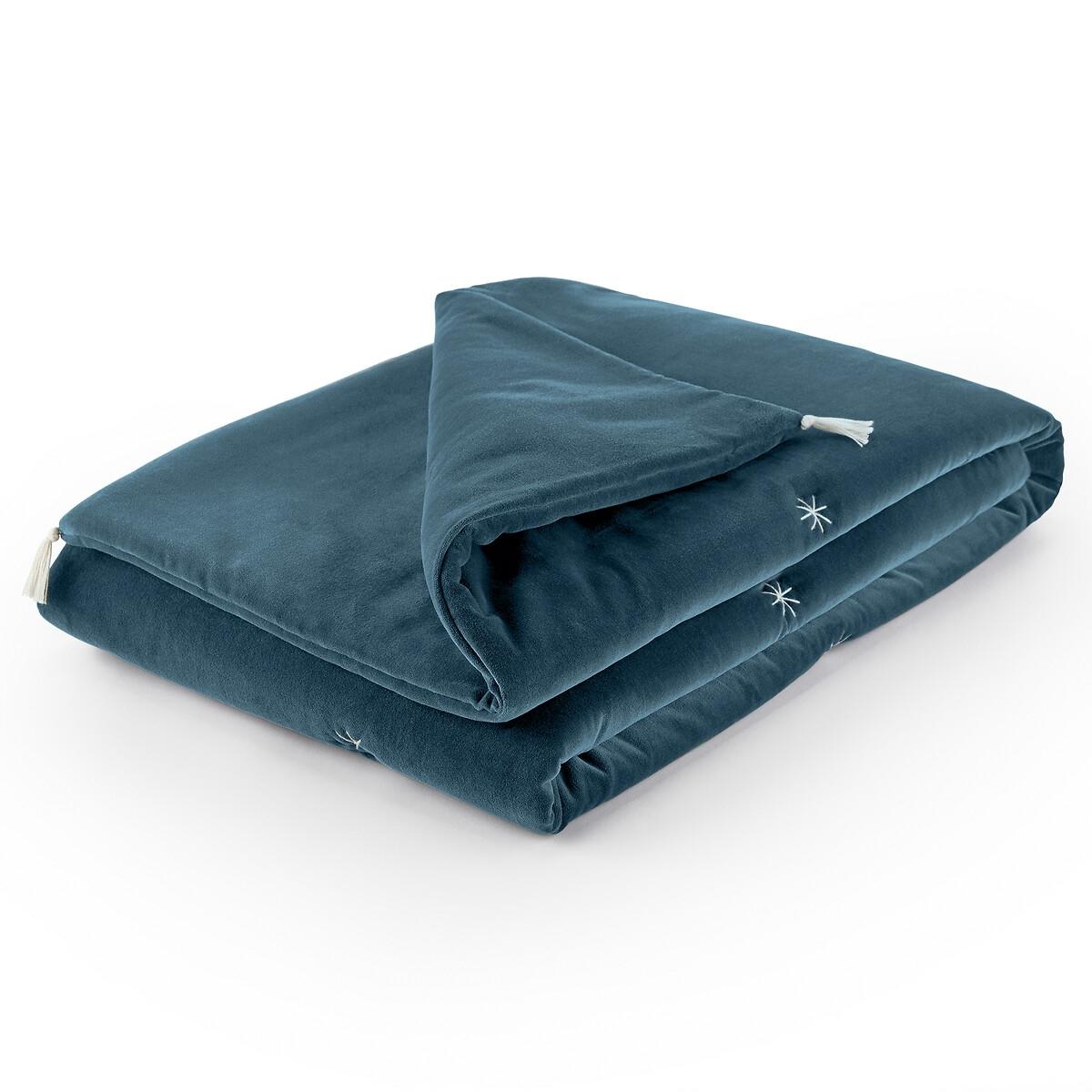 Перина La Redoute Для дивана из велюра Raipur 85 x 185 см синий халат la redoute из переработанного велюра xxl синий