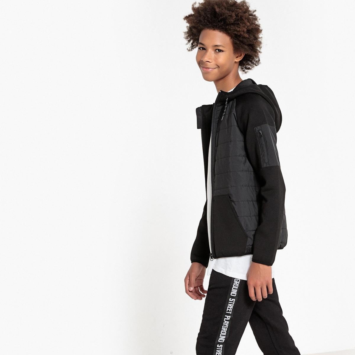Свитшот-куртка с капюшоном, 10-16 лет
