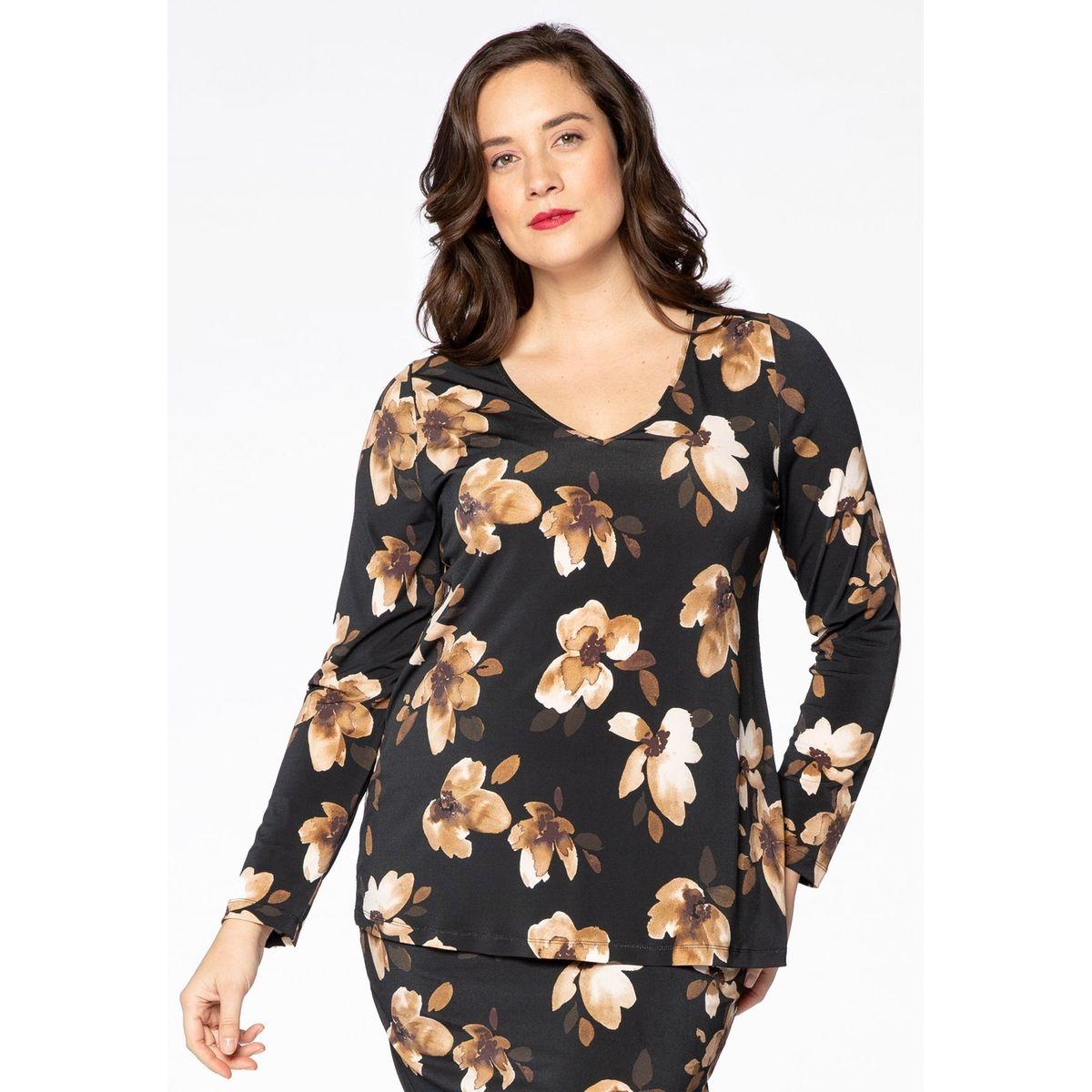 T-shirt imprimée floral