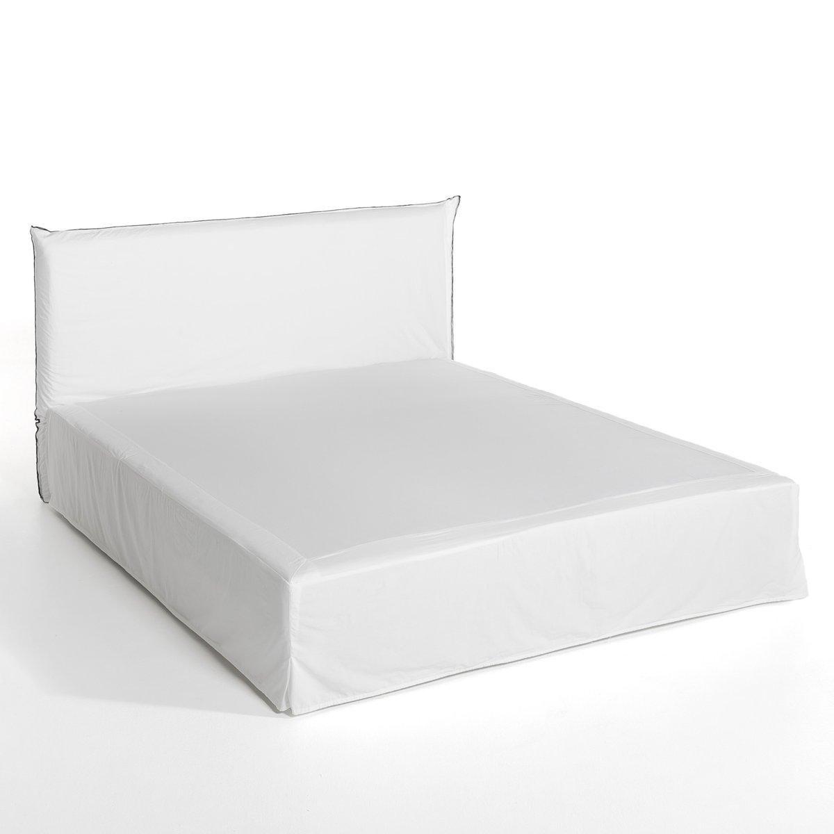 Чехол для изголовья кровати и наматрасник Sandor от La Redoute