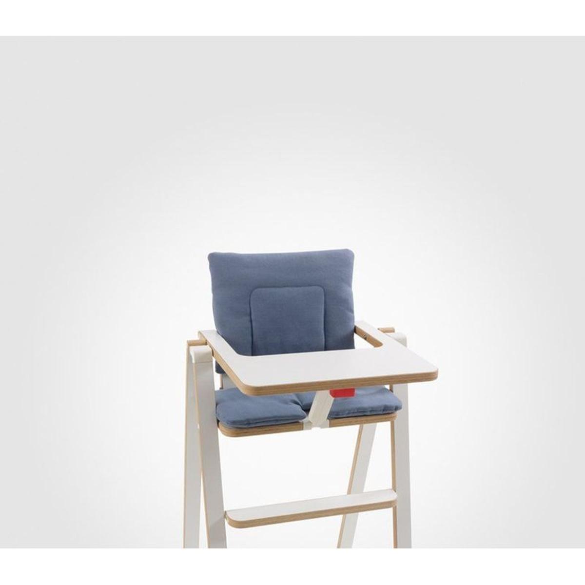 Coussin réducteur chaise haute Supaflat Blue Velvet