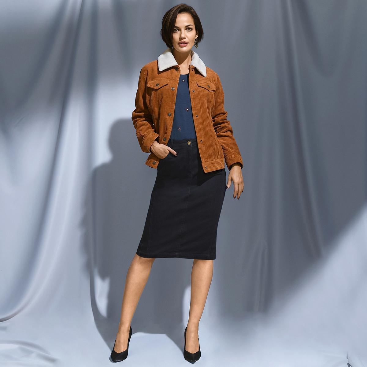 Imagen principal de producto de Camiseta con cuentas, de algodón y modal - Anne weyburn