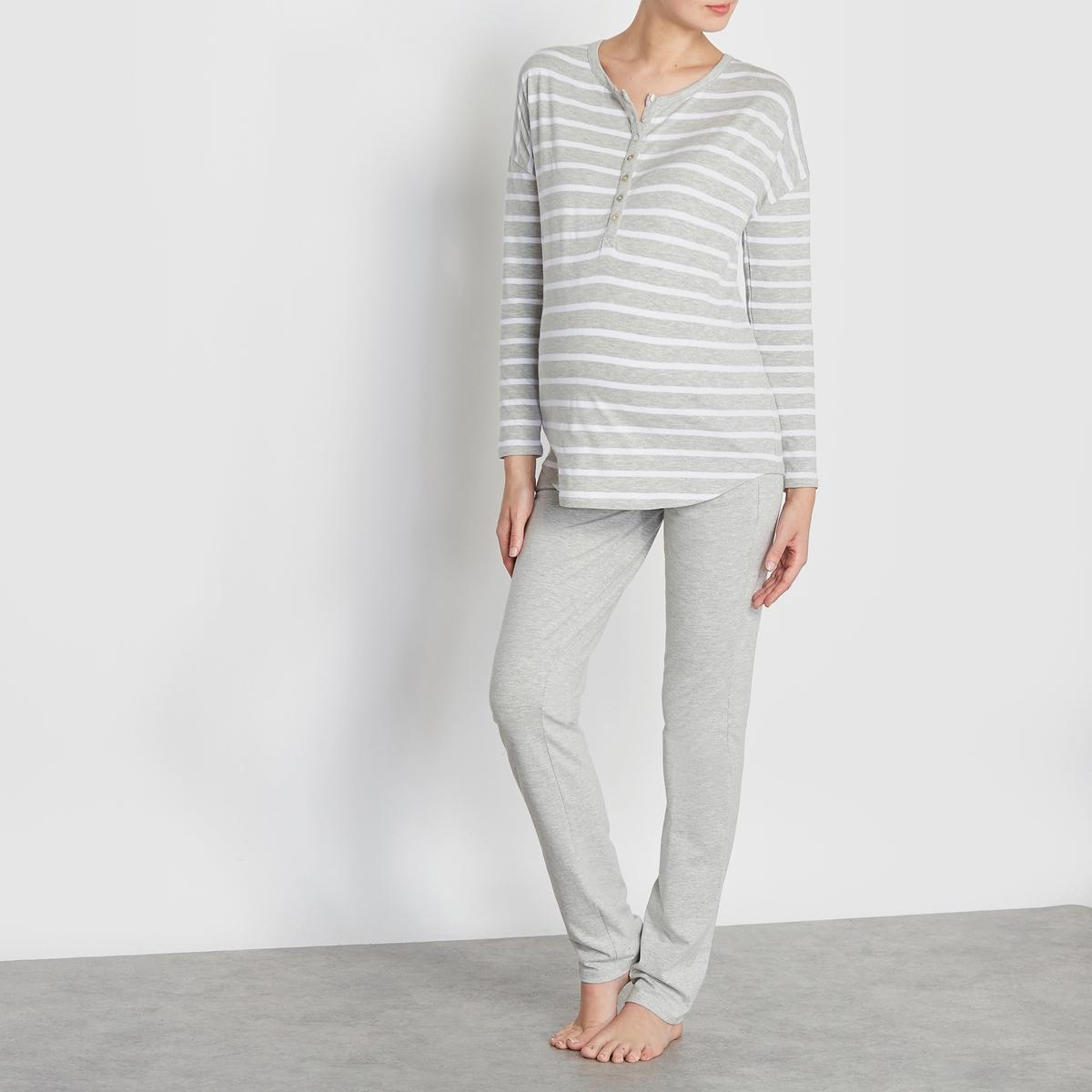 Пижама для беременных и кормящих грудью брюки для беременных topshop 4 22