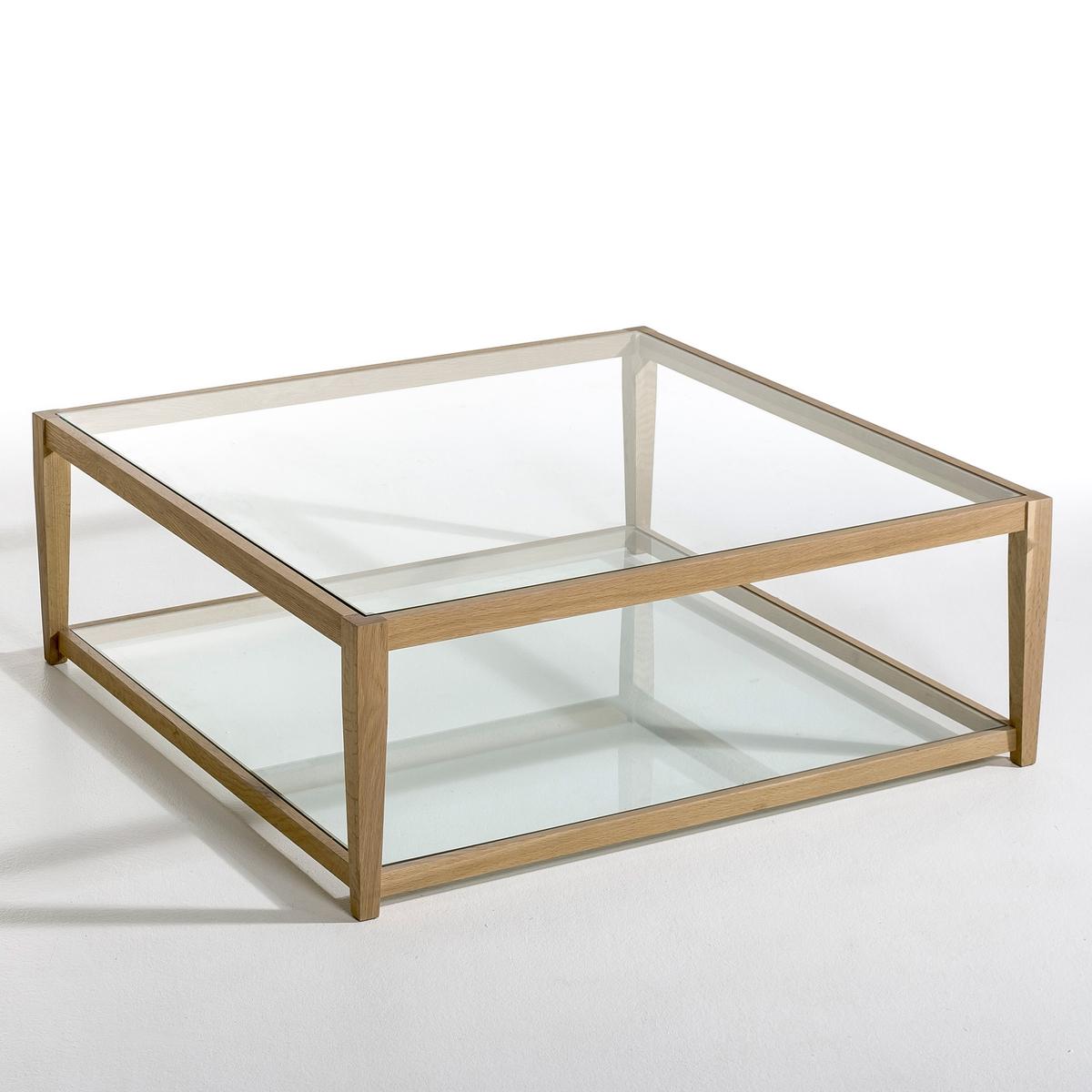 Столик журнальный со стеклянной столешницей Junon