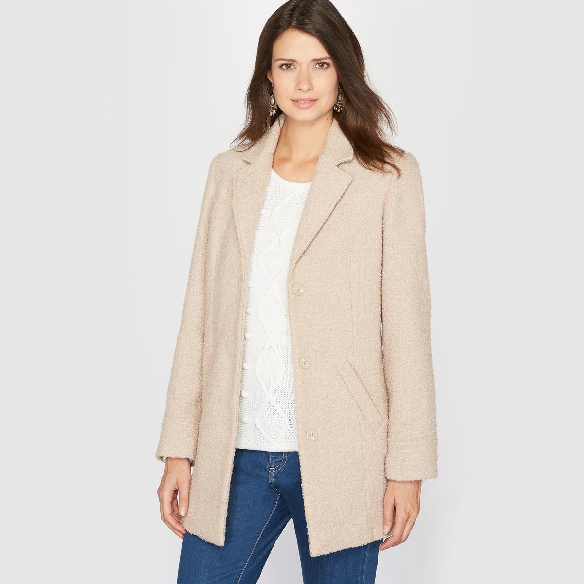Пальто из малой пряжи, 10% шерсти