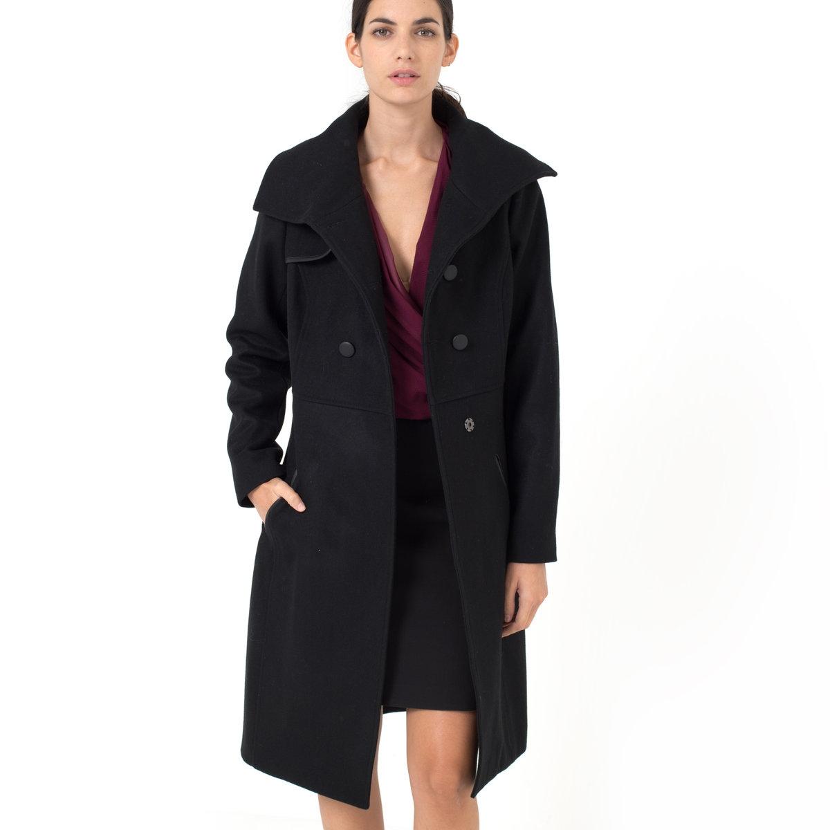 Пальто, 65% шерсти