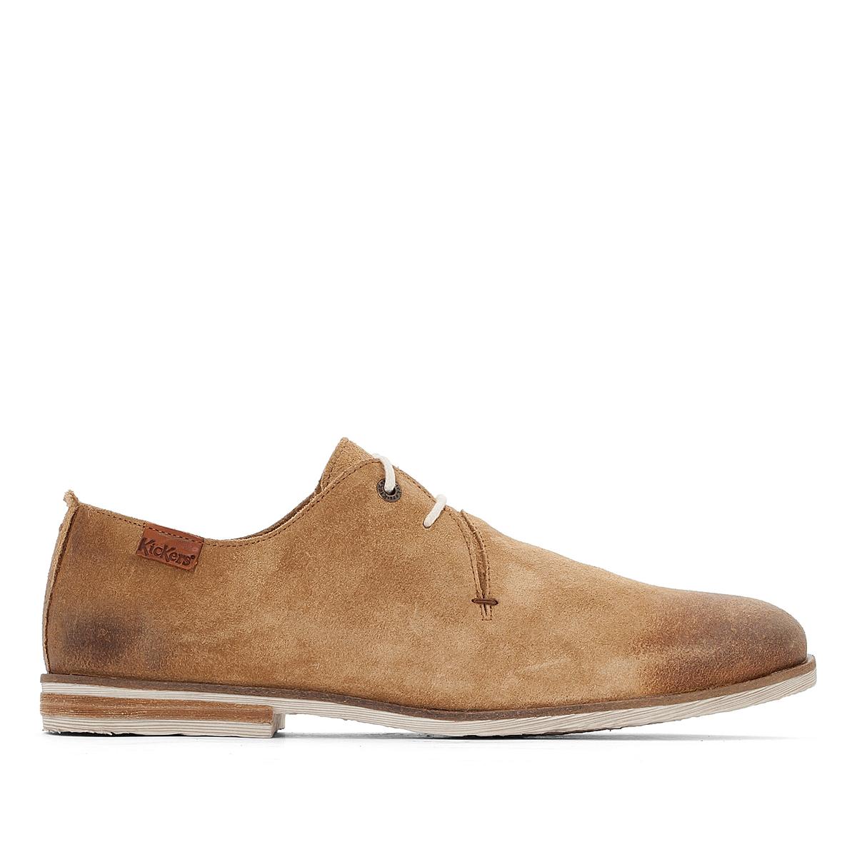 Ботинки-оксфорды кожаные Flallina