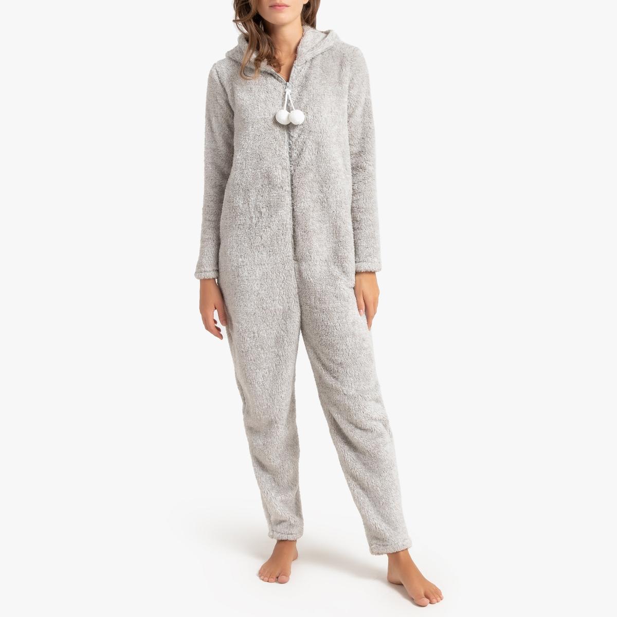Mono pijama con capucha motivo conejito