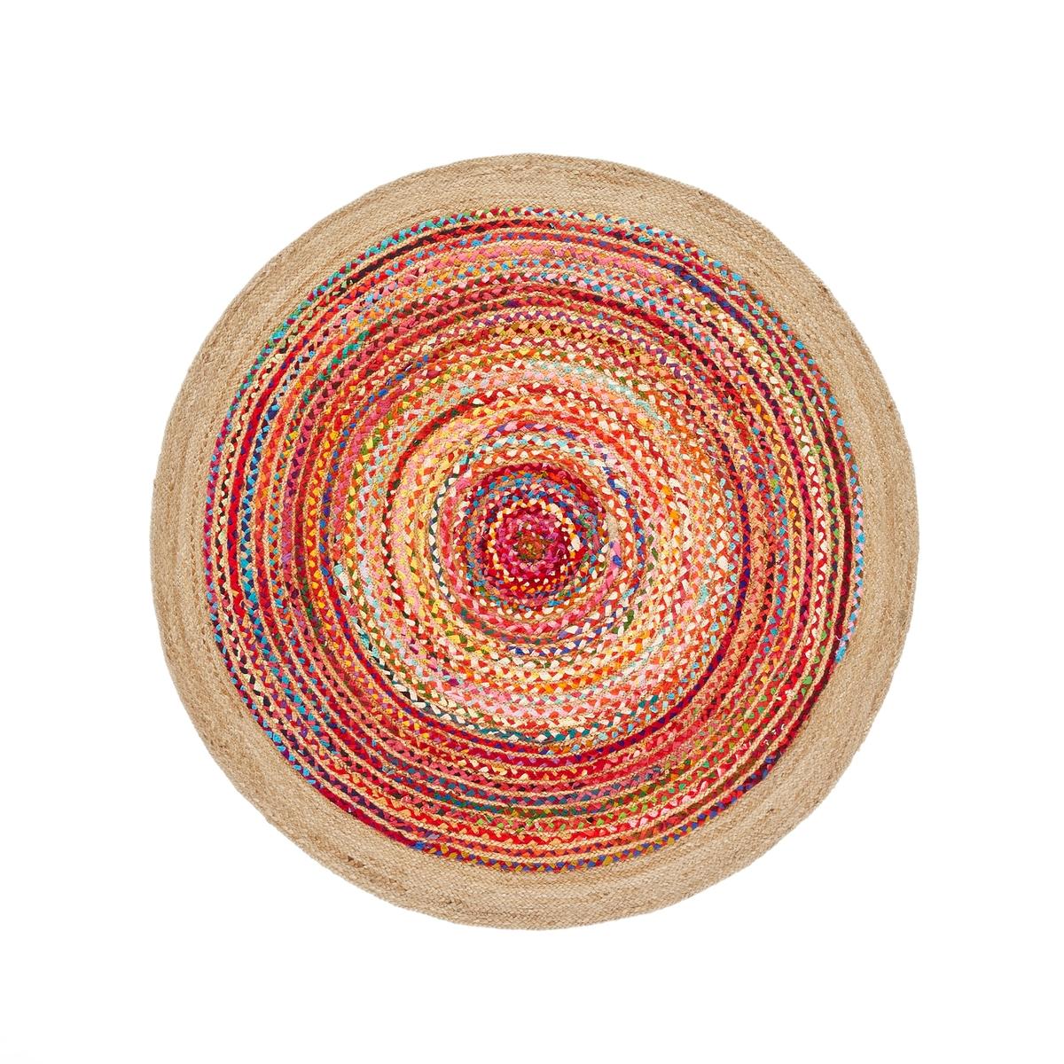 цена Ковер La Redoute Из джута и хлопка см Jaco единый размер разноцветный онлайн в 2017 году