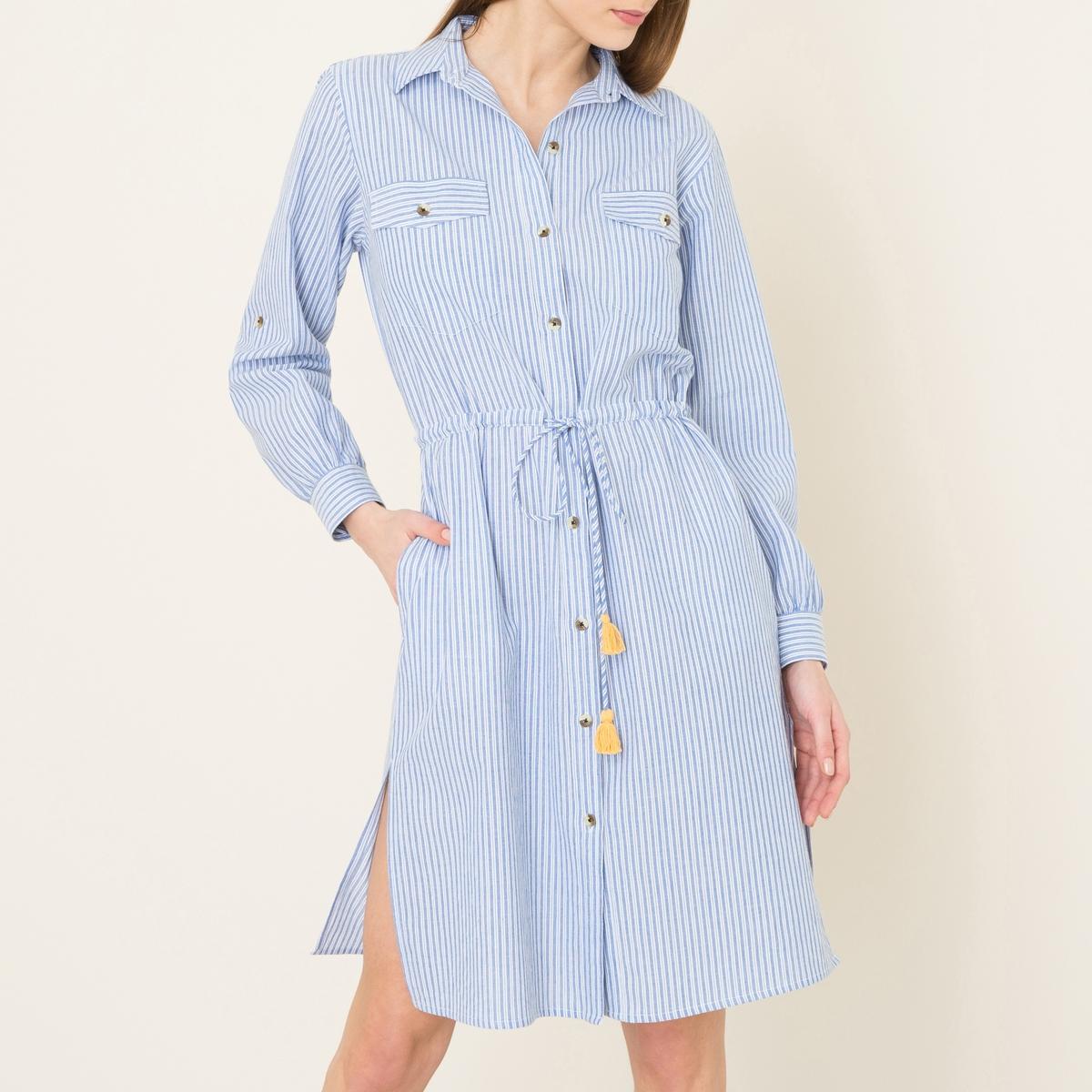 Платье-рубашка ROSANNA