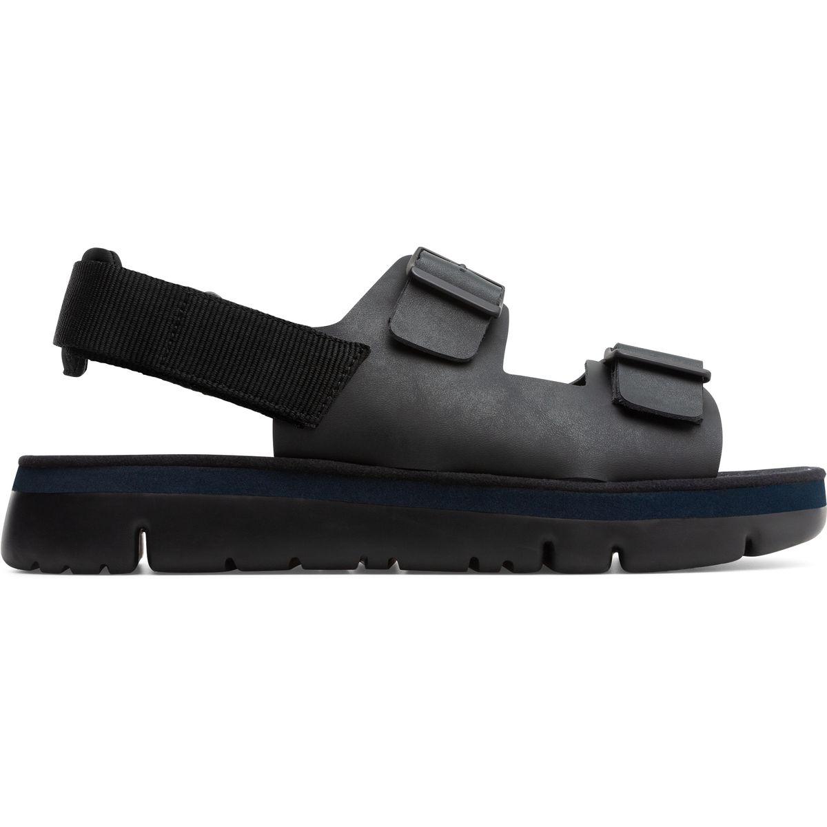 Sandales élastiques à talons cuir Oruga Sandal