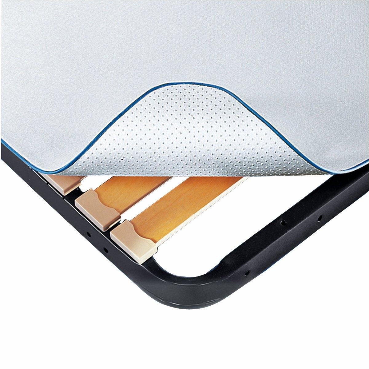 Защитная подкладка под матрасПредназначена для кроватей с ламелями и одновременно продлевает срок службы вашего матраса .  Обеспечивает циркуляцию воздуха, предупреждая скопление влаги   .Описание :Безопасная для человека и окружающей среды обработка Aegis® защищает от бактерий, клещей и плесени Характеристики :Материал из 100% полиэстера (580 г/м?). Одна сторона покрыта мягкими зубчиками, не позволяющими матрасу скользить по каркасу кровати и защищающими его от преждевременного износа Машинная стирка при 60 °СБиоцидная обработка  Откройте для себя нашу коллекцию постельных принадлежностей на сайте laredoute.ru<br><br>Цвет: белый<br>Размер: 140 x 190 см.80 x 200 см
