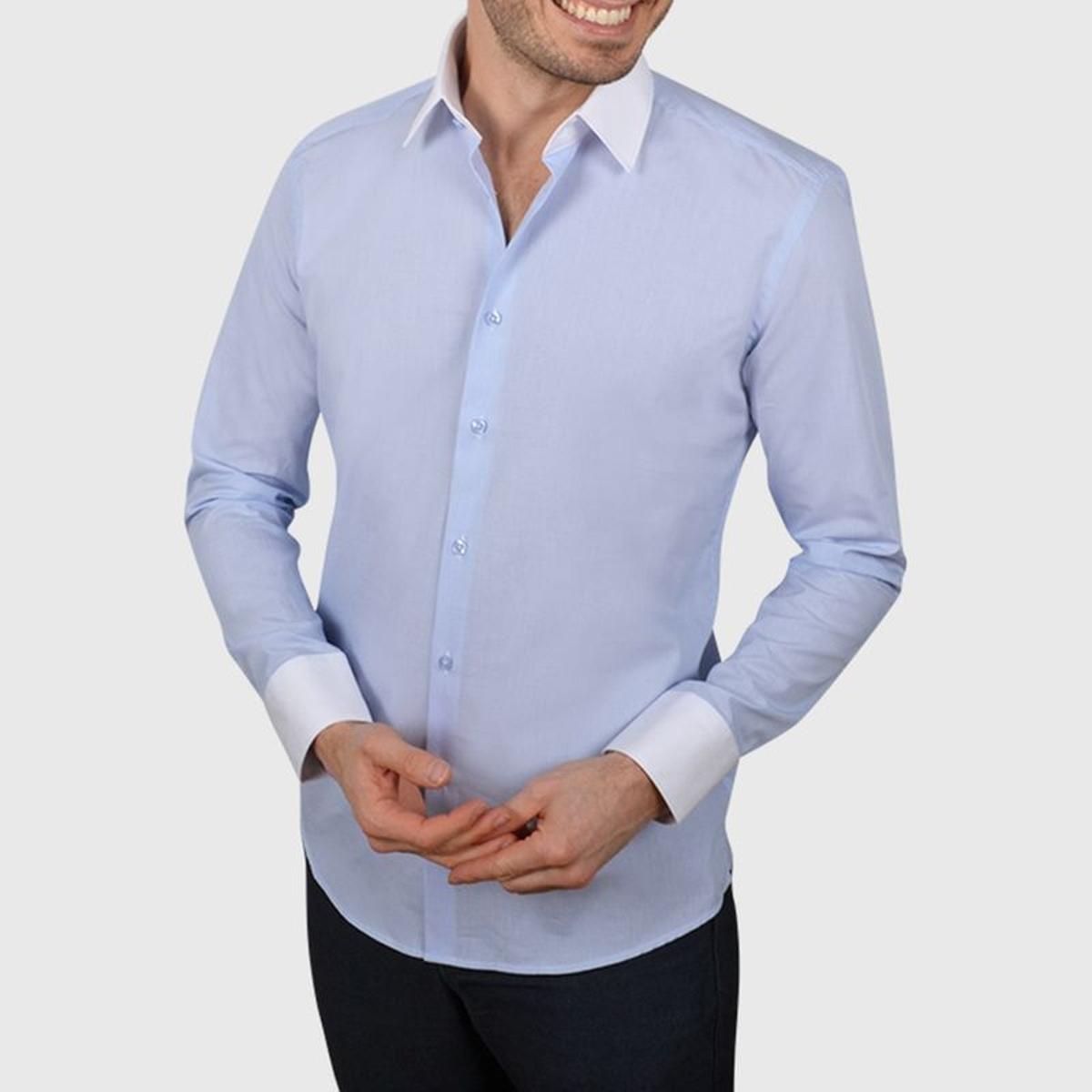 Chemise cintrée à rayures