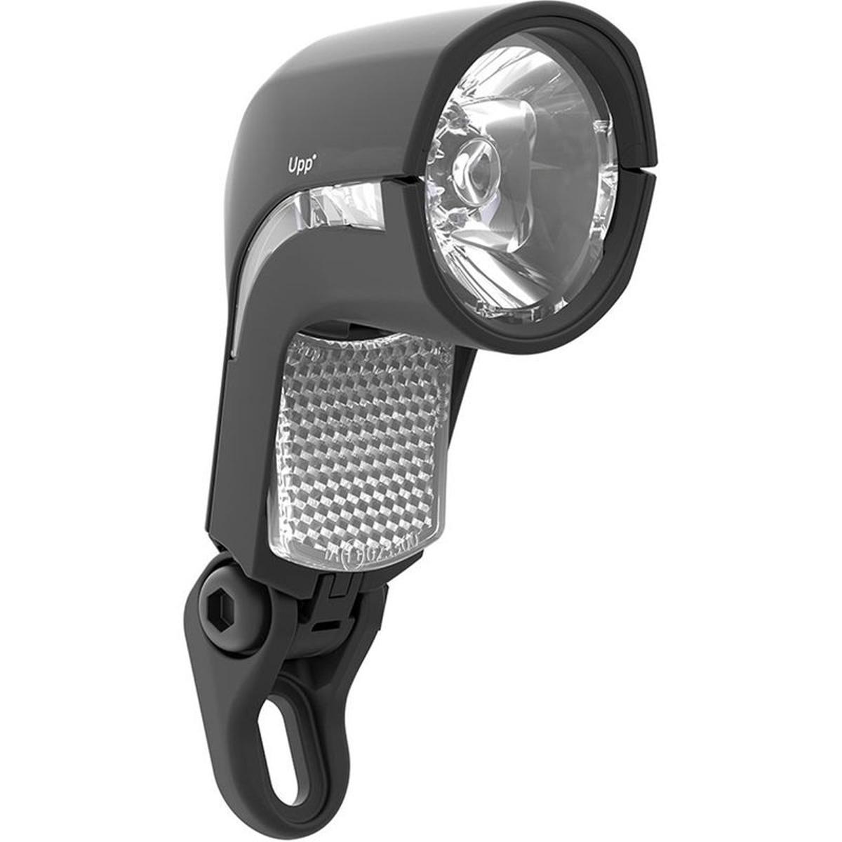 Lumotec Upp Dc - Éclairage vélo - noir/transparent