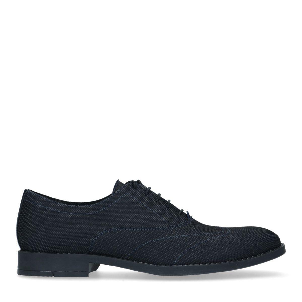 Chaussures à lacets textile avec détails