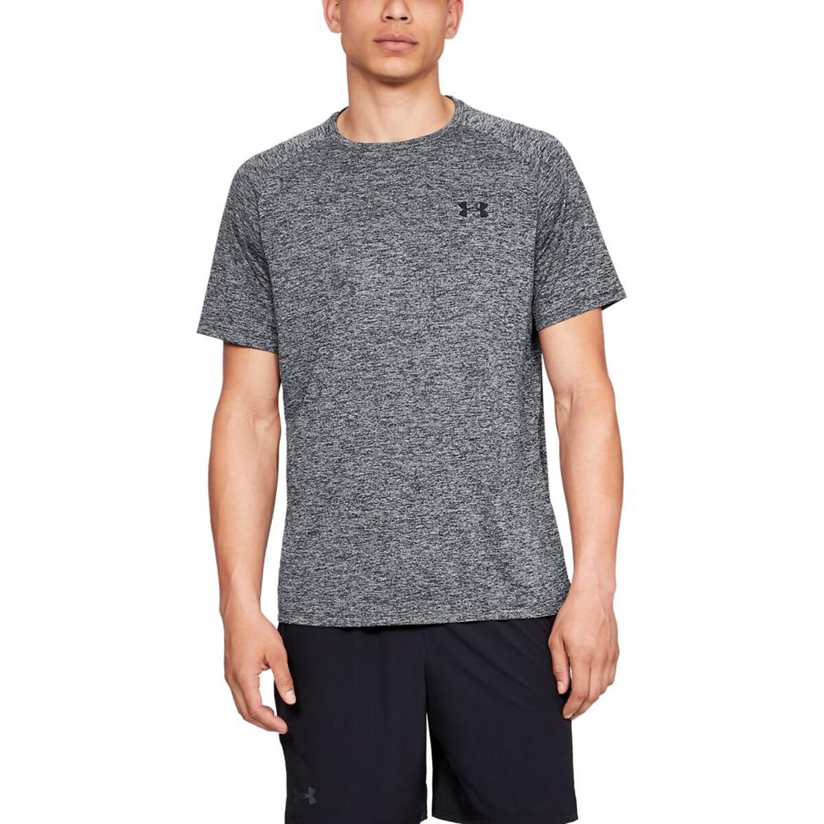 T-shirt Tech de gola redonda, mangas curtas