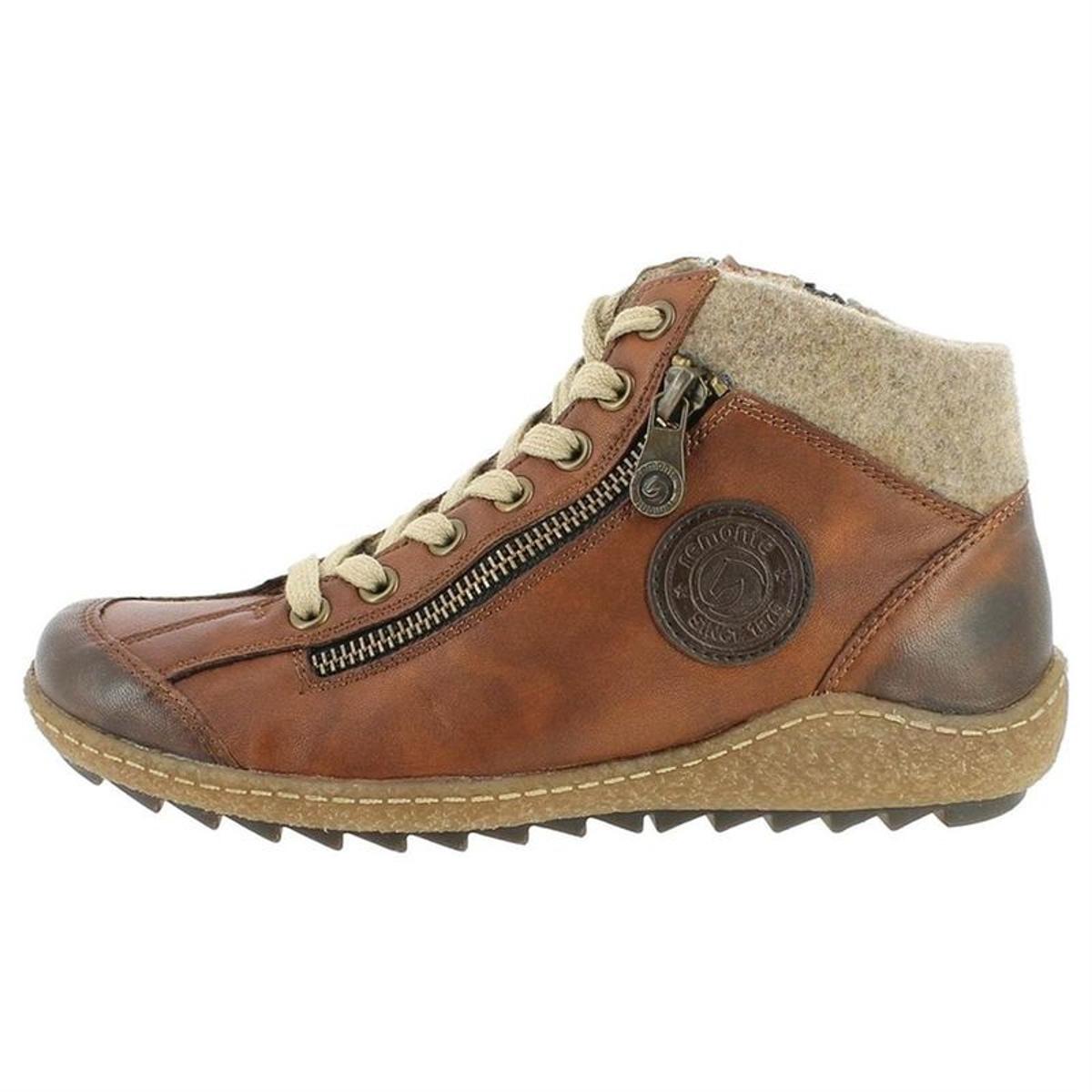 Soldes ! chaussures a lacets fourré - remonte