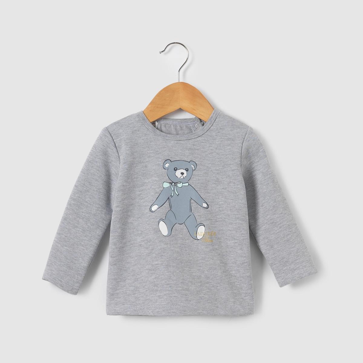 Свитшот с рисунком медвеженок LADUREE 0 мес-3 лет