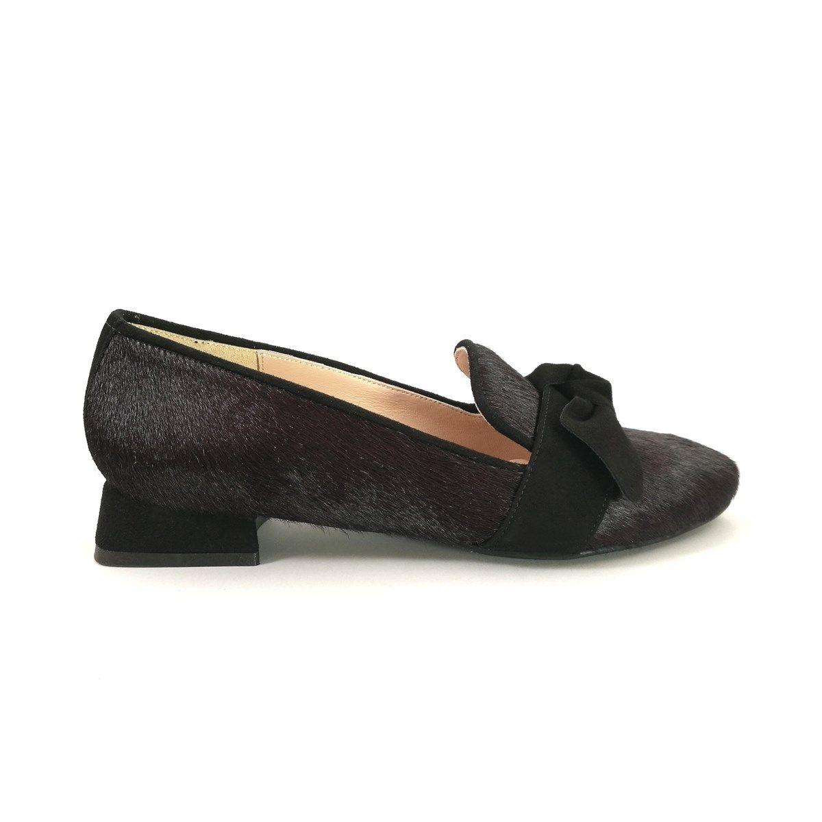 Babies Mocassins femmes cuir bout pointu GIADA LOW  chaussures petites pointures