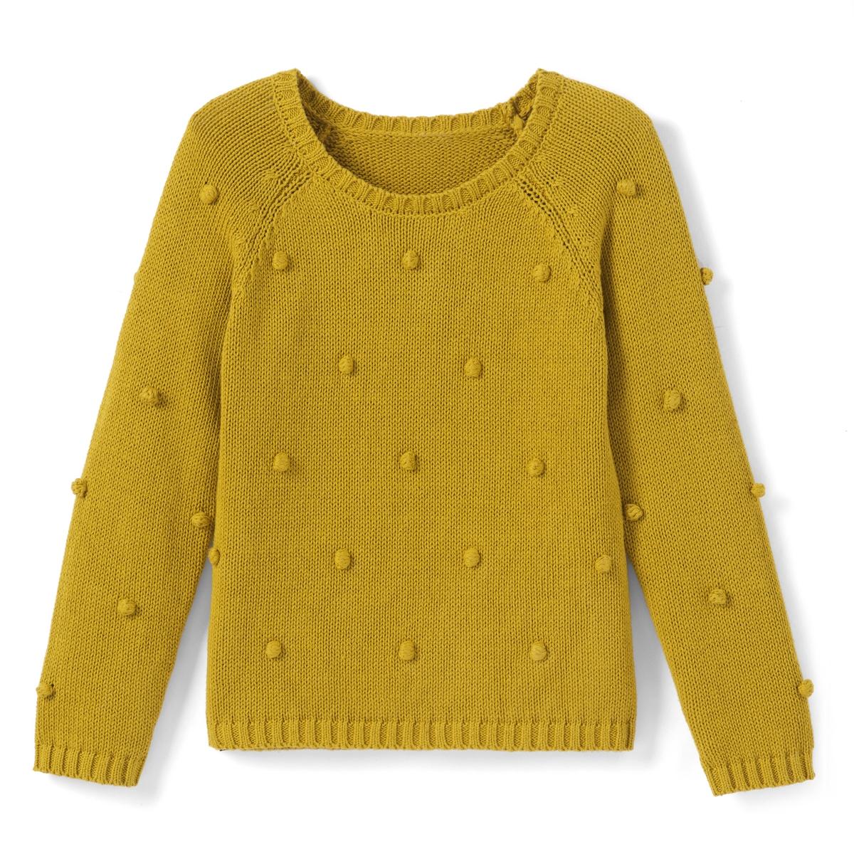 Пуловер из оригинального трикотажа, 3-12 лет