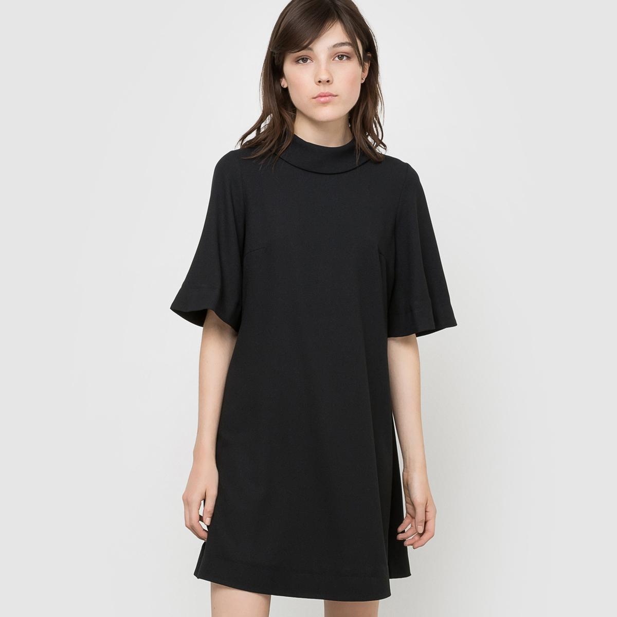 Платье широкого покроя