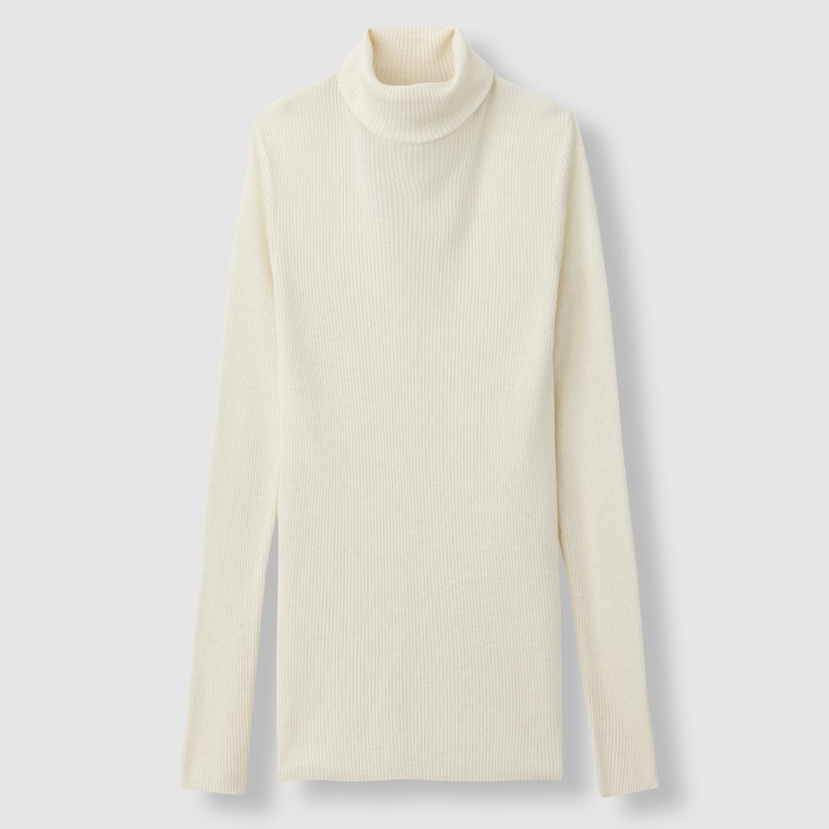 Пуловер-водолазка трикотажный