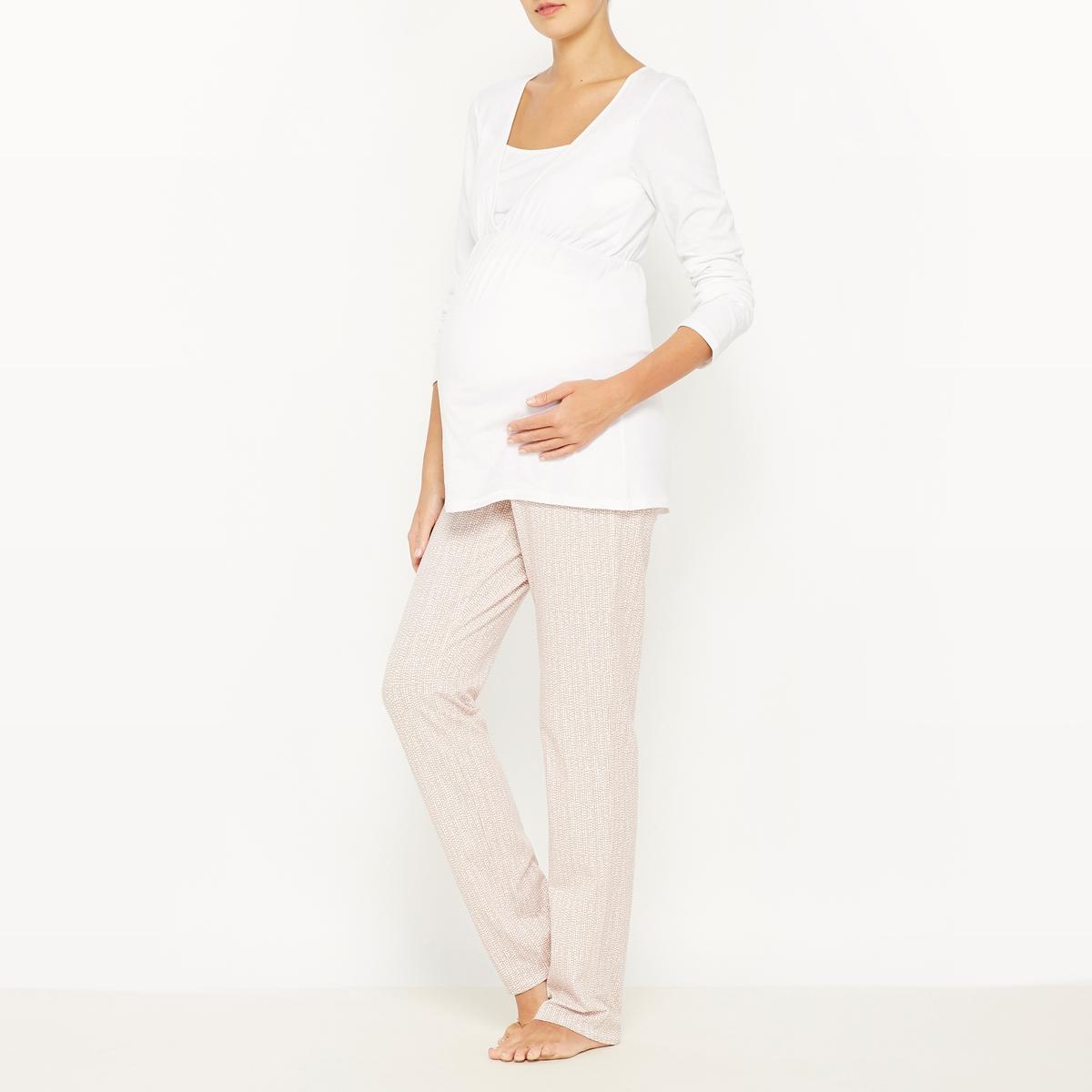 Пижама для периода беременности и грудного вскармливания